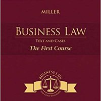 Cengage Advantage Books: Business Law: Text And Cases - The First Course Download