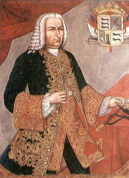 Sebastian de Eslava y Lazaga, Új Granada tartomány alkirálya.