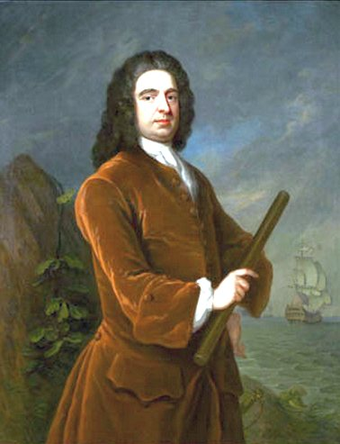 Edward Vernon tengernagy, a grog feltalálója.