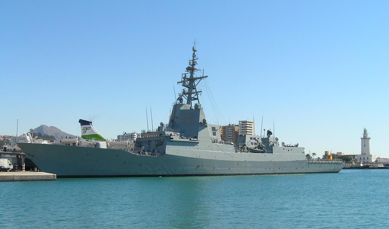 Egy valóban méltó emlékmű. A spanyol haditengerészet Blas de Lezóról elnevezett fregattja.
