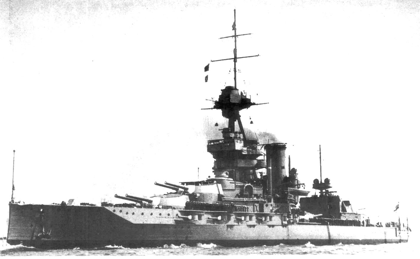 Rule Britannia! Az Emperor of India csatahajó.