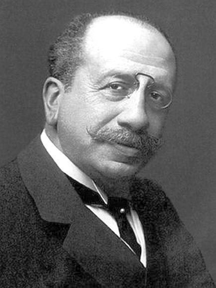 Az egyik józan német. Albert Ballin, hajógyáros, a Hamburg-America Line igazgatója.