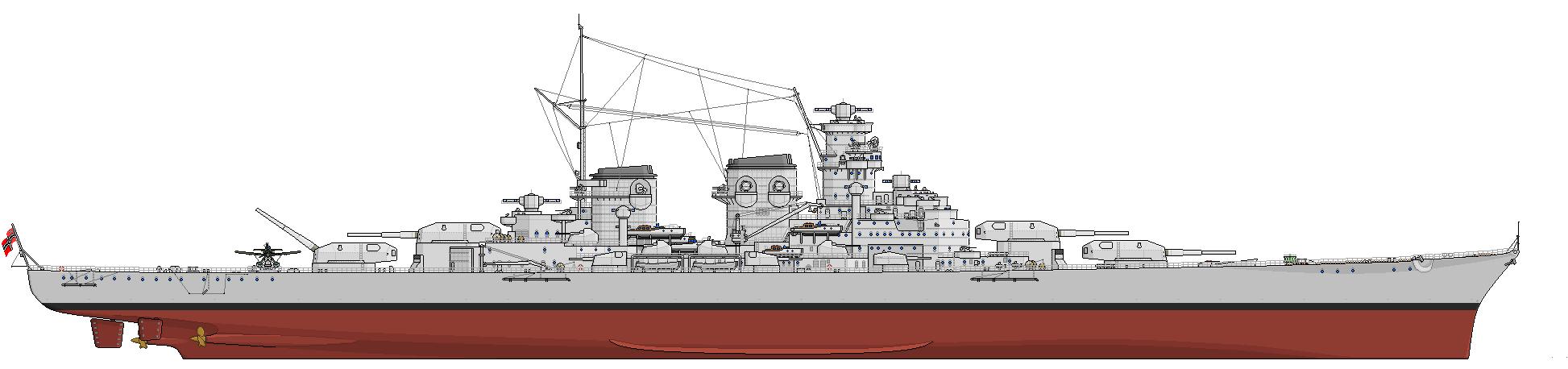A H-39 oldalnézeti rajza.