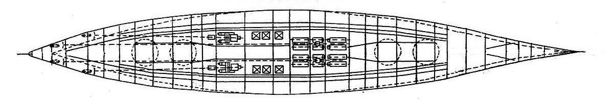 A H-44 hajtóműveinek elrendezése.