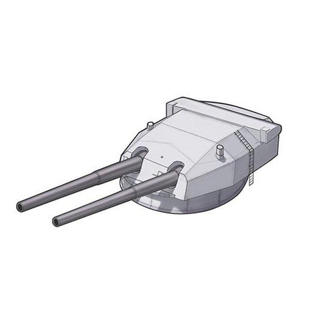 533 mm-es lövegtorony rajza.