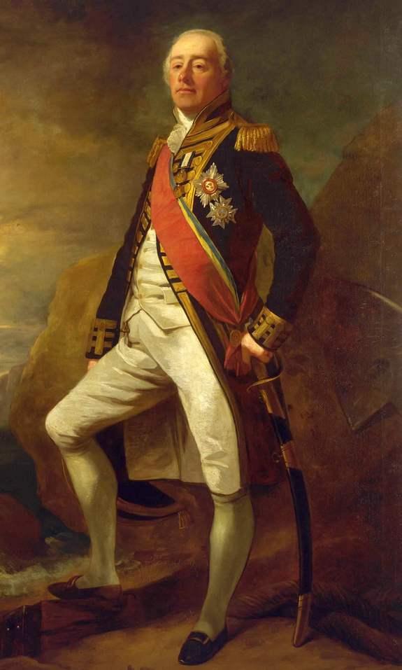 Sir James Saumarez.