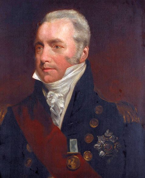 Richard Goodwin Keats kapitány, a győzelem kovácsa.