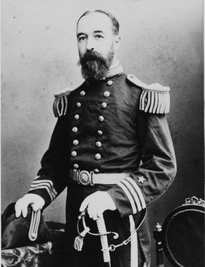 Cornelius Marius Schoonmaker, a Vandalia parancsnoka.