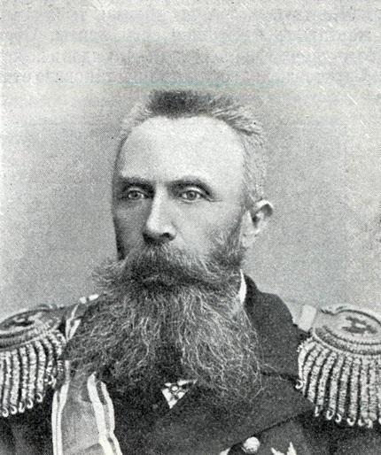 Oskar Viktorovics Stark altengernagy, a Port Arthur-i hajóraj parancsnoka. (1846-1928)