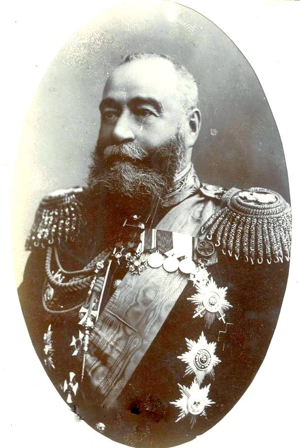 Az orosz Távol-Kelet mindenható ura, Jevgenyij Ivanovics Alekszejev nagyherceg. (1843-1917)