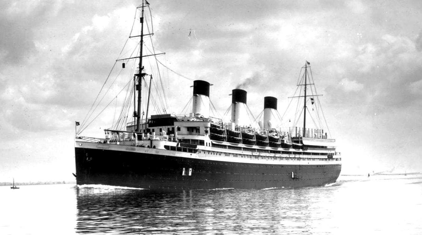 A Cap Arcona a háború előtt.