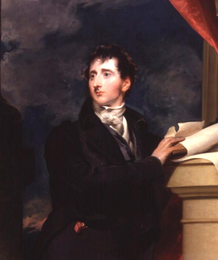 A fiatal Francis Burdett.