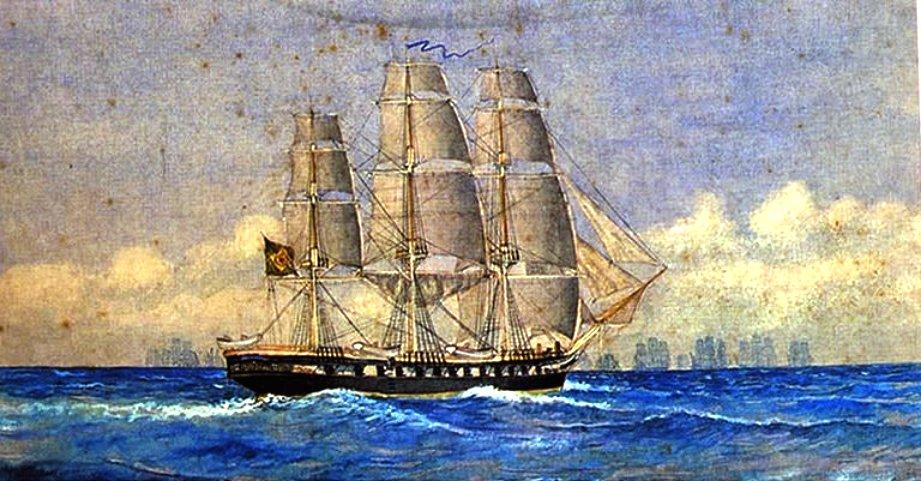 A Niteroi fregatt.