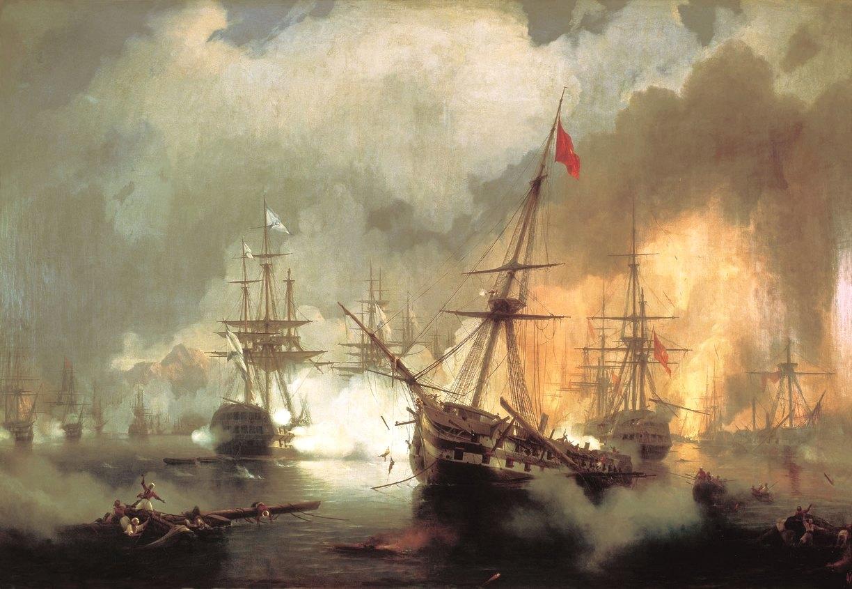 A navarinói csata.