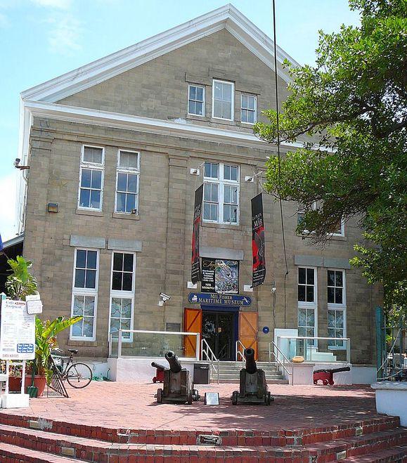 A Fisherék által alapított hajózástörténeti múzeum Key Westben.