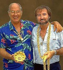Fisher, és egy másik kincsvadász, Pat Dyne.