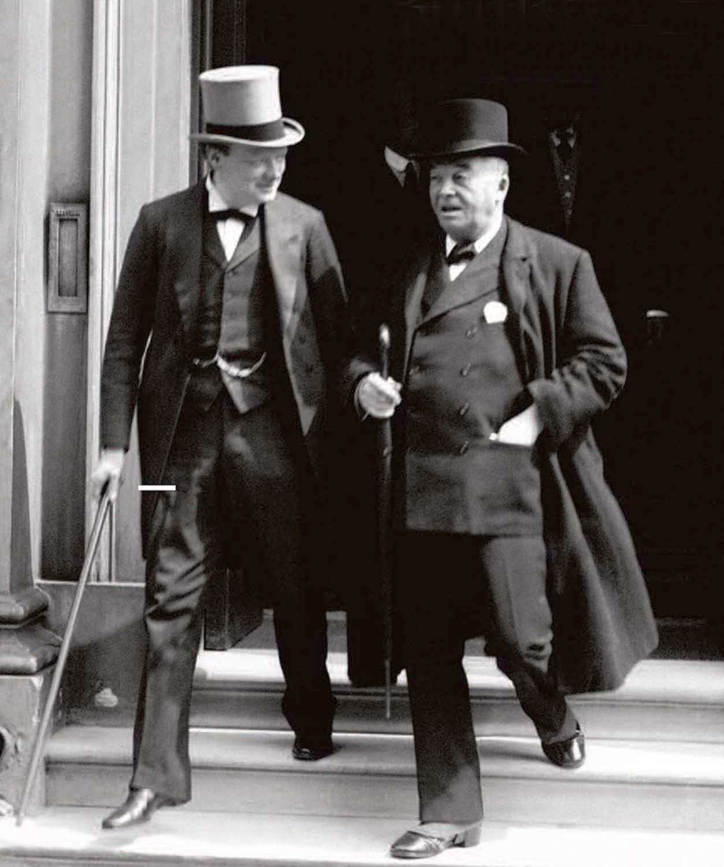 Churchill és Fisher 1915-ben.