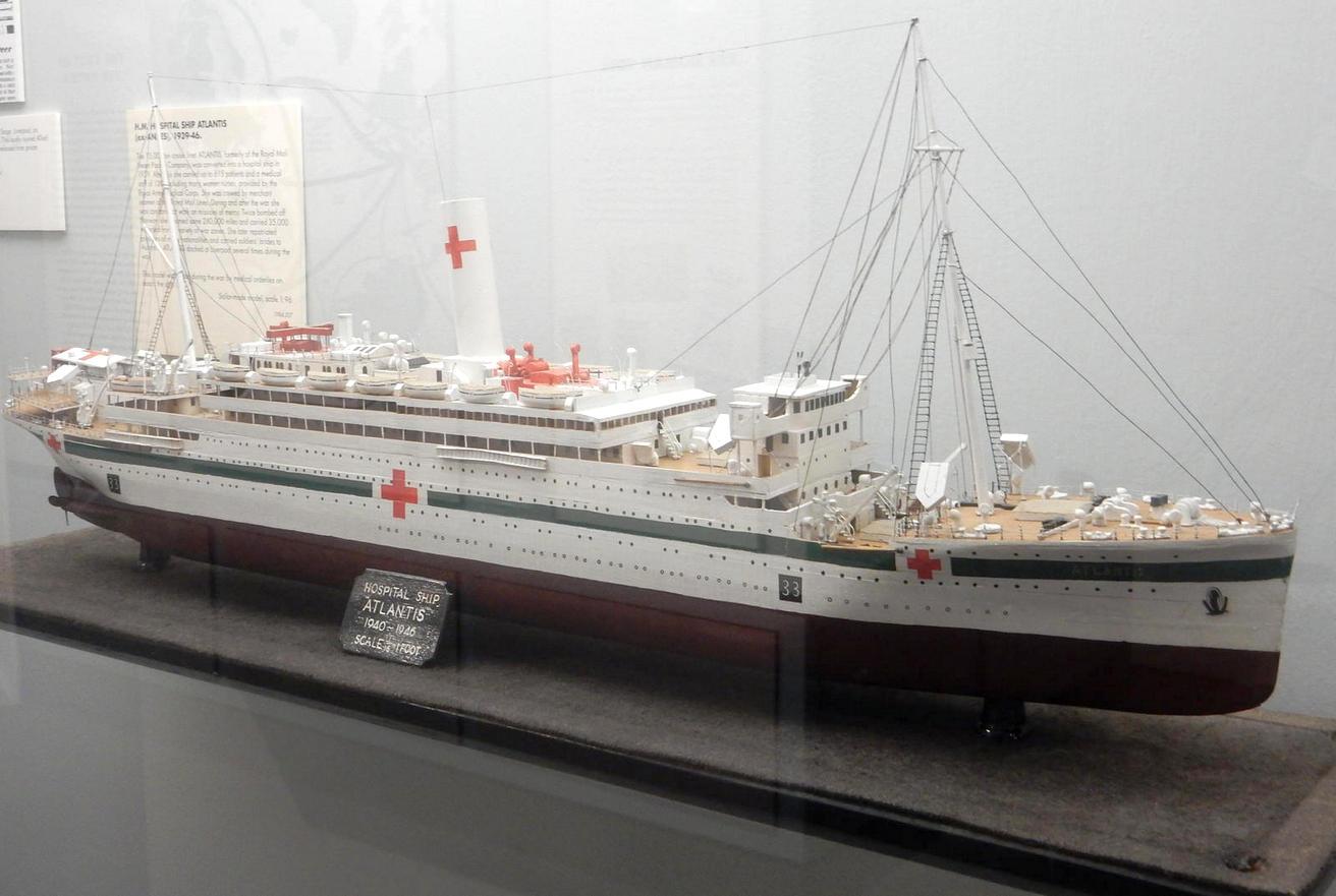Az Atlantis modellje.