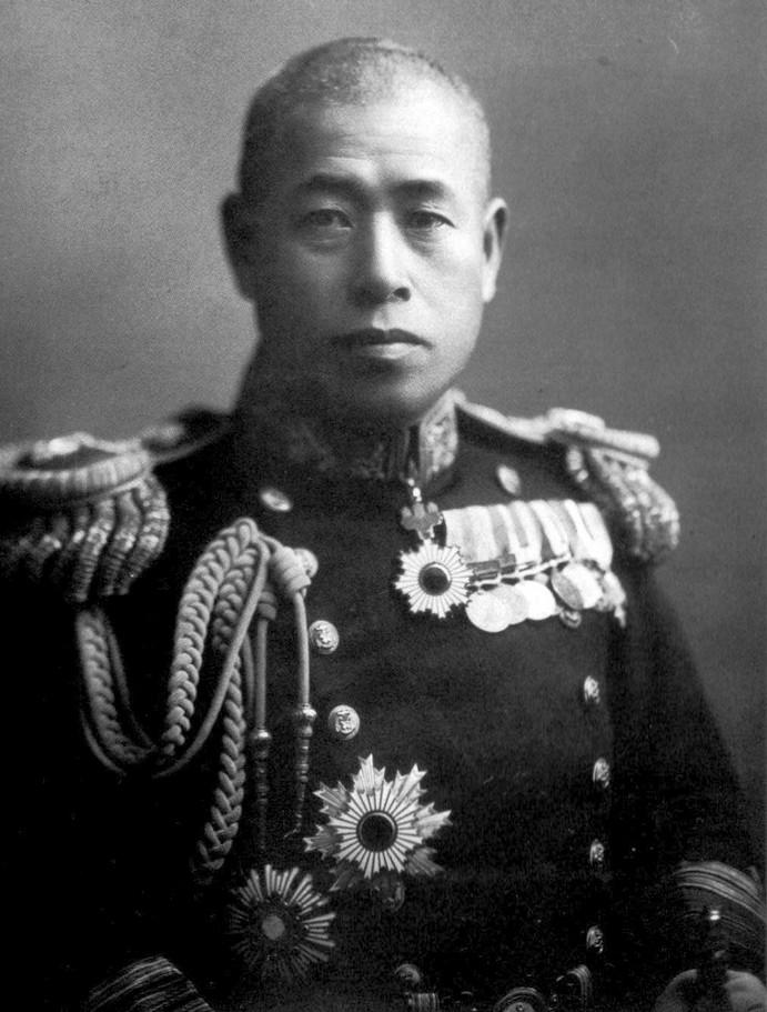 A japán főparancsnok, Yamamoto Isoroku tengernagy.
