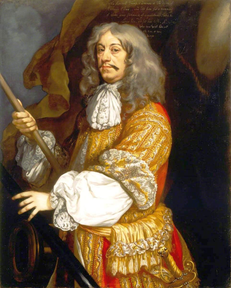 A külső megjelenésre is mindig sokat adó Cornelis Maartenszoon Tromp.