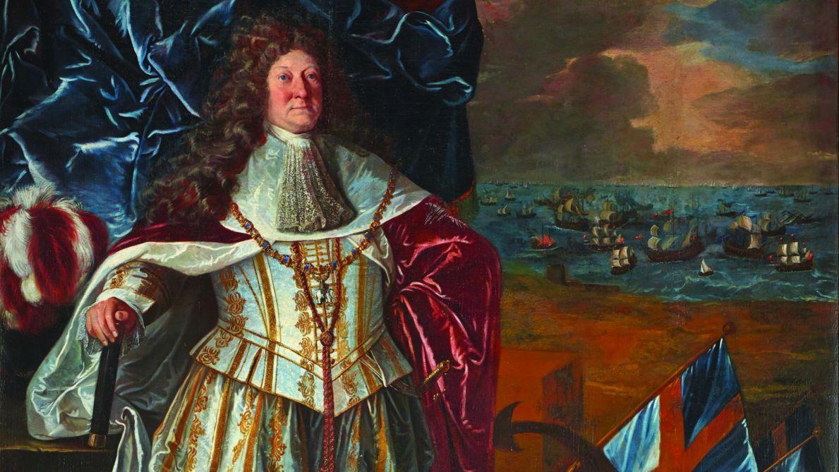 Az idős Niels Juel.