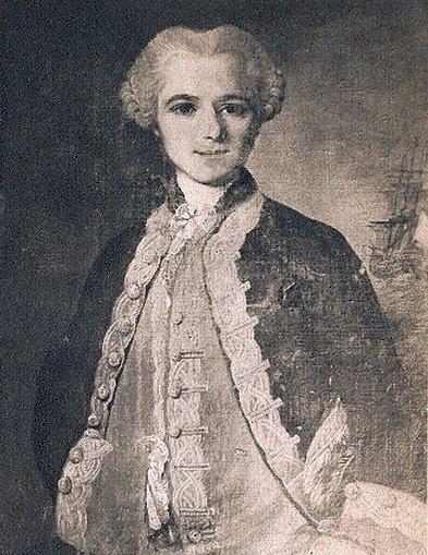 A szépreményű, ifjú tengerész. Yves Joseph de Kerguelen-Trémarec. (1734-1797)