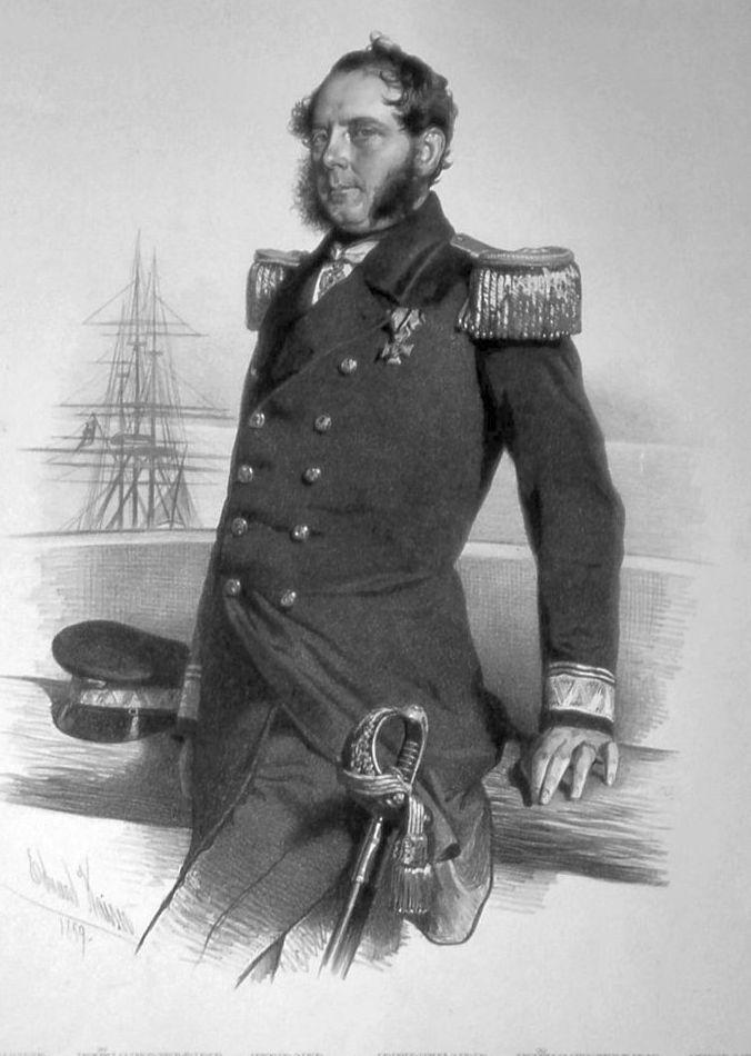 Bernhard von Wüllerstorf-Urbair. (1816-1883)