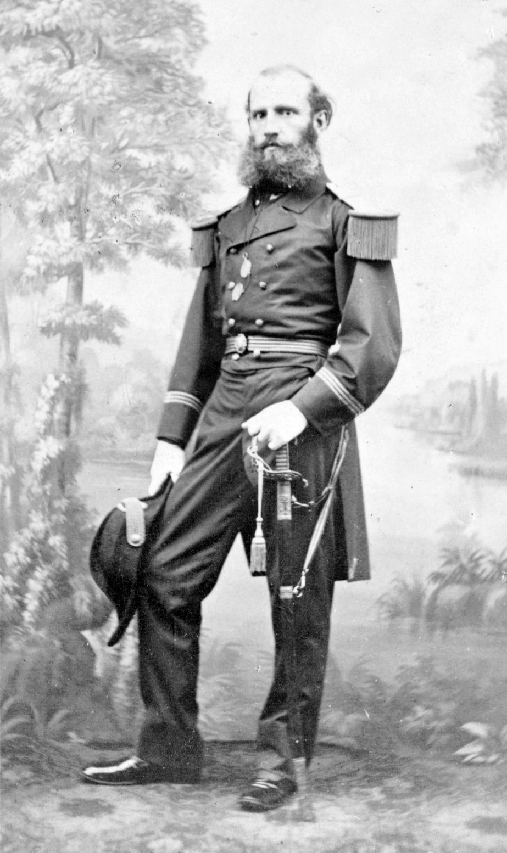 Wilhelm von Tegetthoff, az egyetlen osztrák, akiről Dékány elismeréssel ír. (1827-1871)