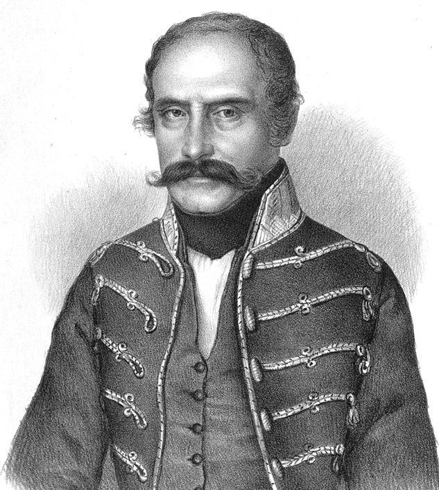 Mészáros Lázár, császári-királyi ezredes, magyar hadügyminiszter. (1796-1858)