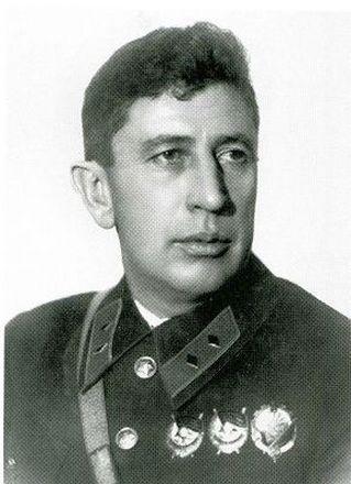 Jevgenyij Szergejevics Kazanszkij, a bolsevik erők északi csoportjának parancsnoka.