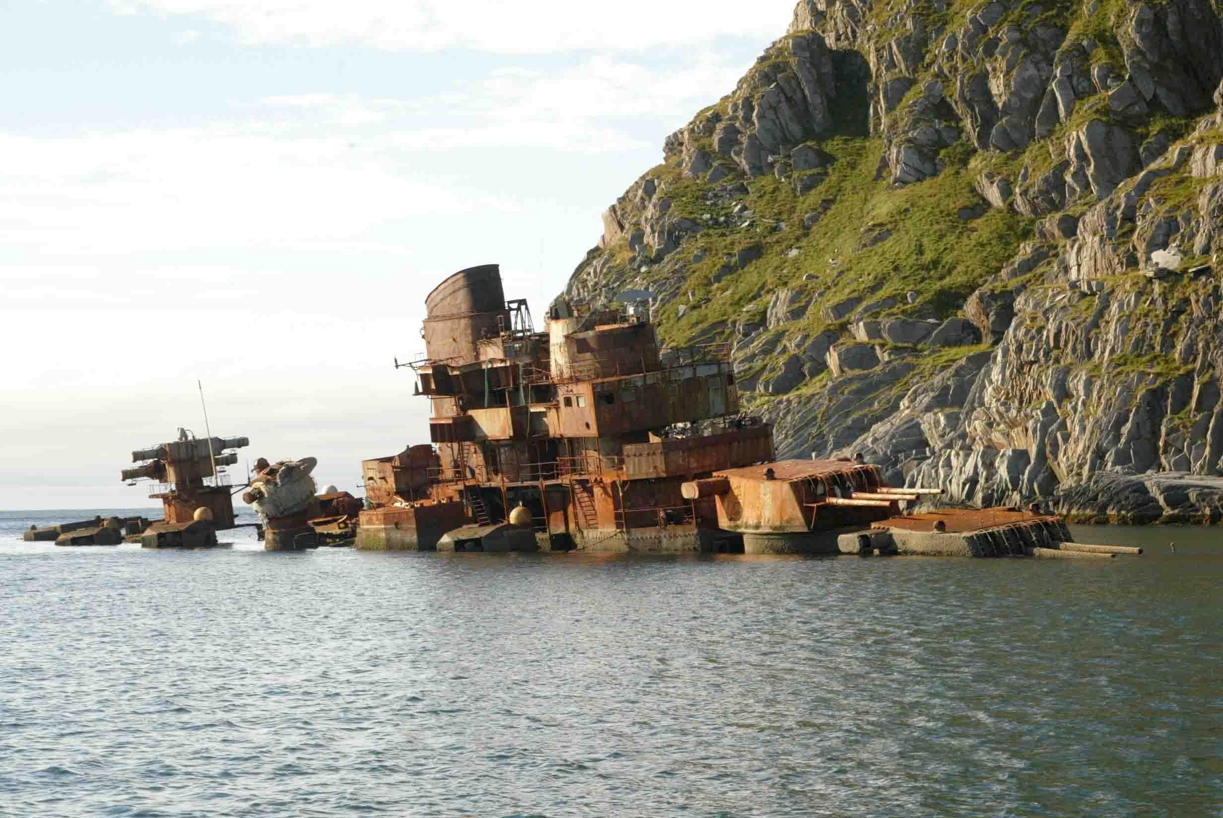 A norvég partoknál megfeneklett Murmanszk.