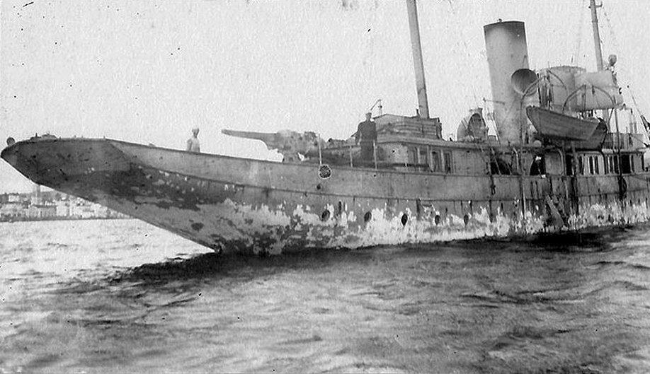 A Margaret, az Azori-szigetekre való megérkezés után.