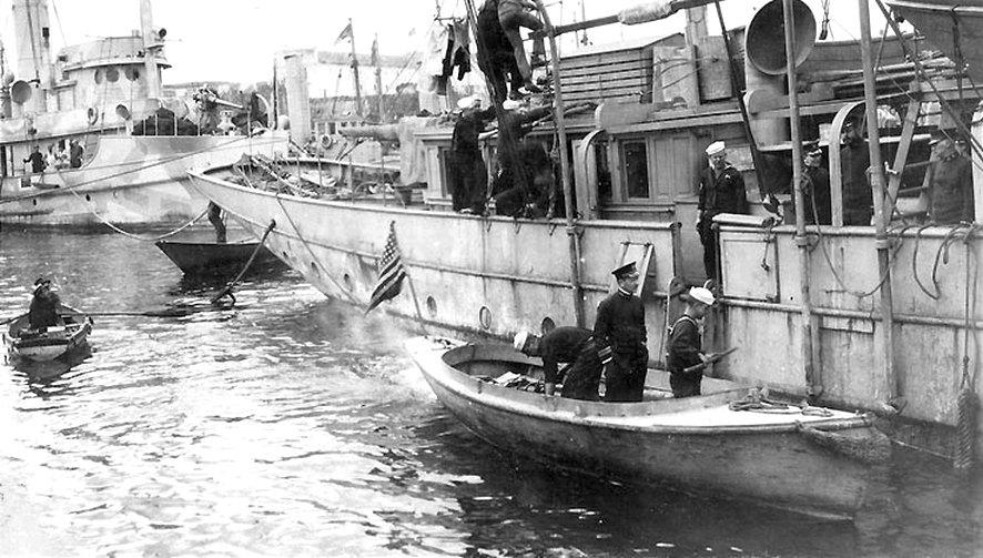 1918 március elsején Fletcher távozik a Margaretről.
