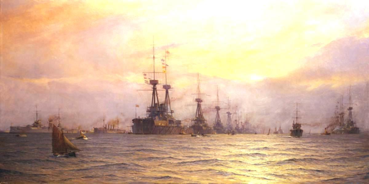 A régi dicsőség. A Royal Navy a háború előtt.