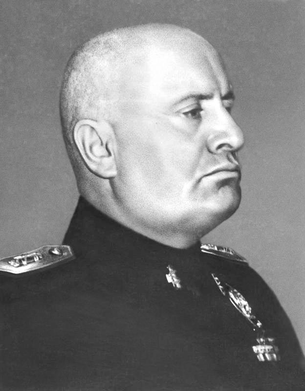A nagy olasz államférfiú, Churchill és Hitler csodálatának tárgya.