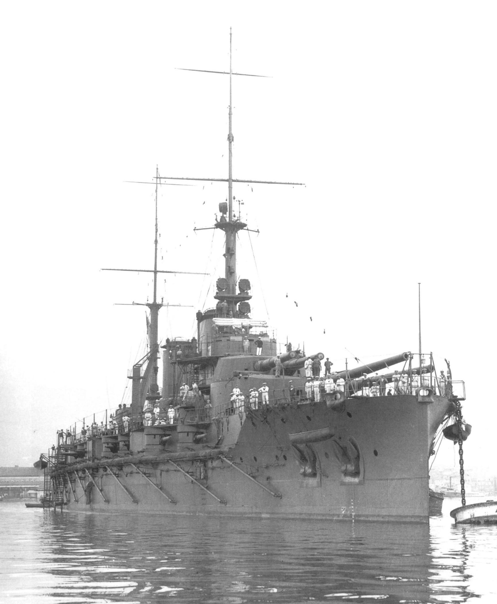 Bretagne osztályú csatahajó.