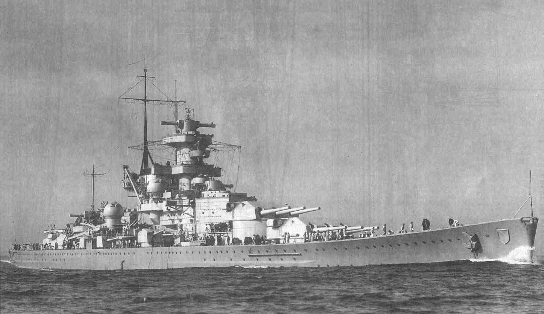 A Scharnhorst 1939-ben.