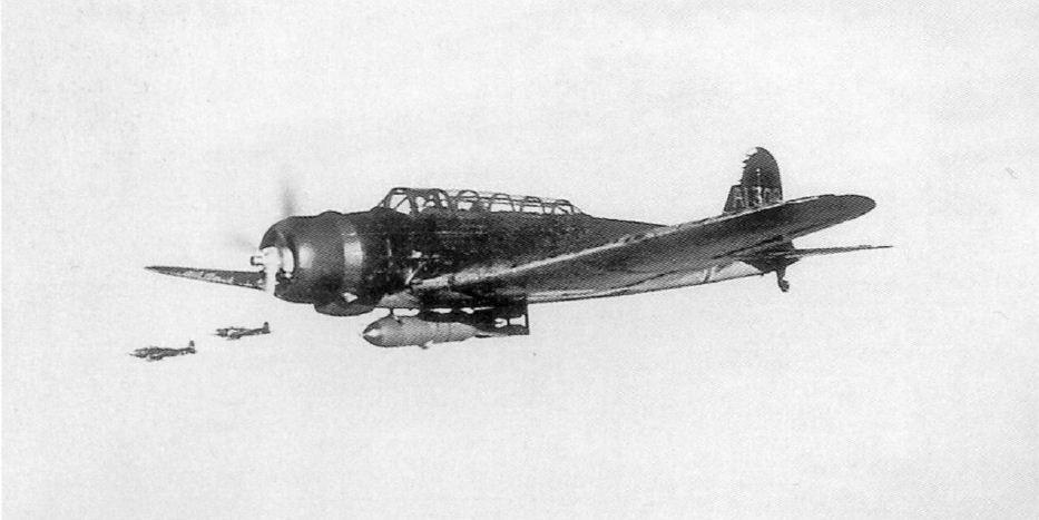 A győzelem fegyvere, a Nakiyama B5N torpedóvető repülőgép.