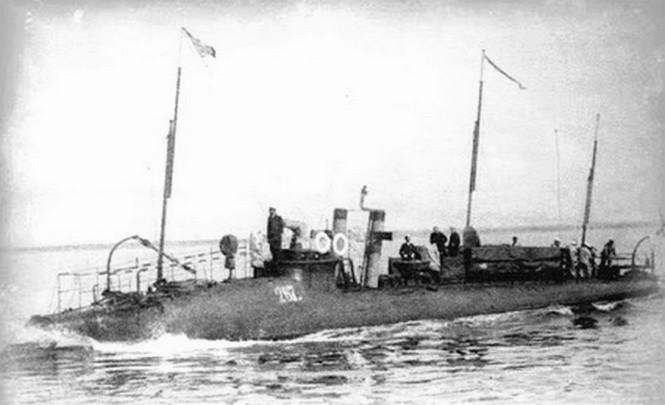 A No.267 torpedónaszád.