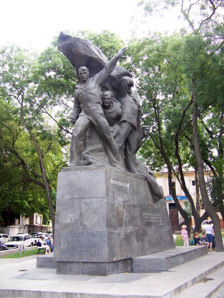 Patyomkin emlékmű Odesszában.