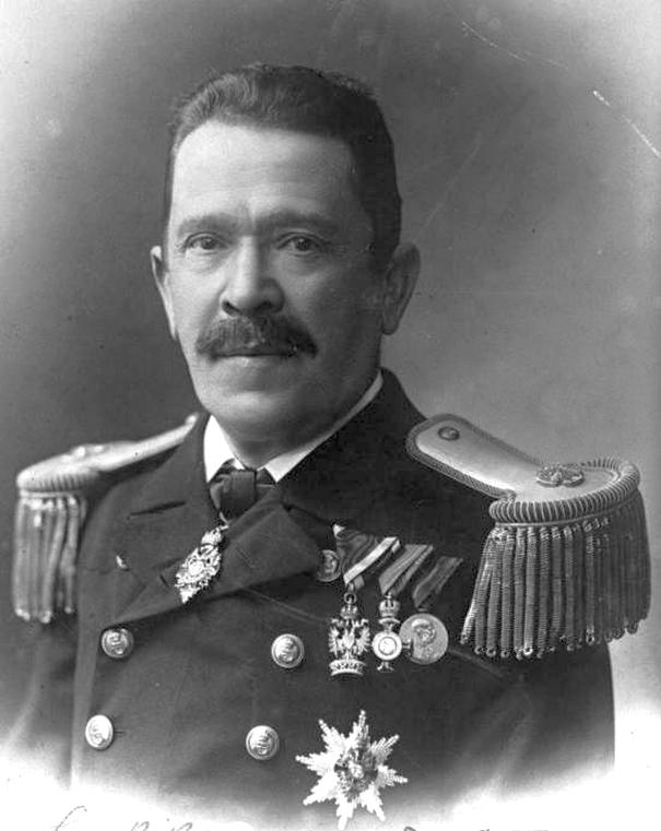 Siegfried Popper, az osztrák-magyar haditengerészet vezető mérnöke, a legtöbb o-m. csatahajó tervezője.