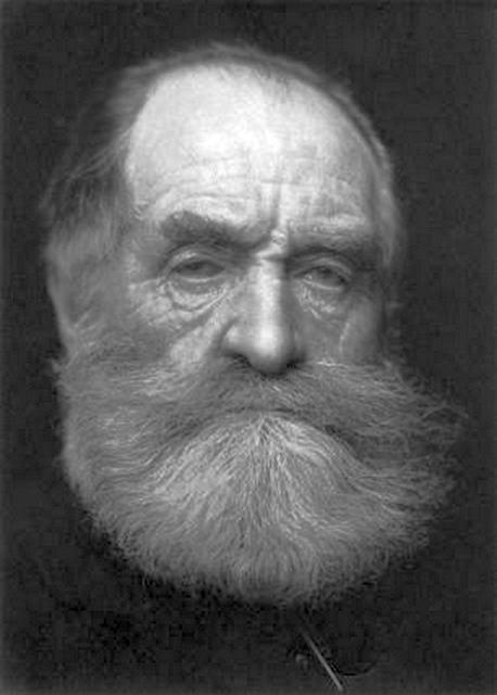John Poyntz Spencer, a Vörös Gróf – a vörös a szakálla színére utal –, a korban divatos próféta szakállal.