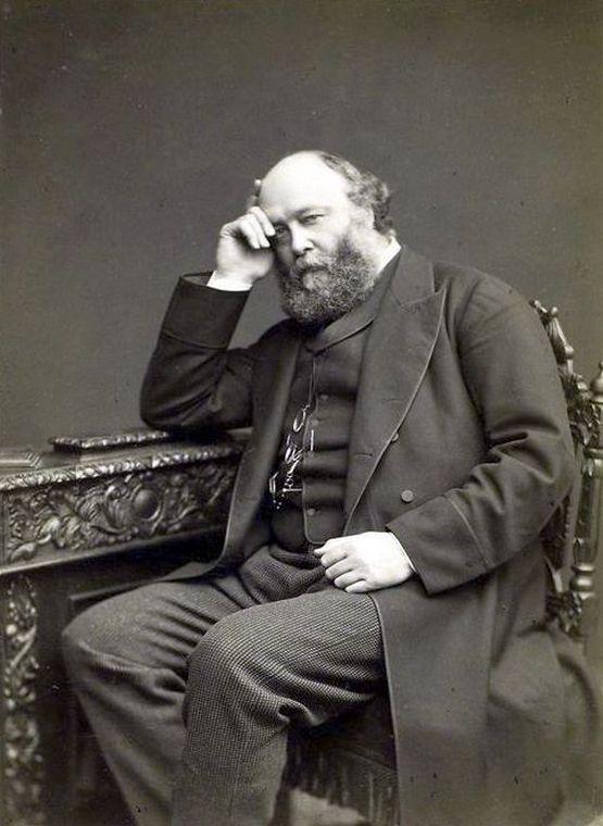A feltehetően a németek miatt ilyen gondterhelt Lord Salisbury.