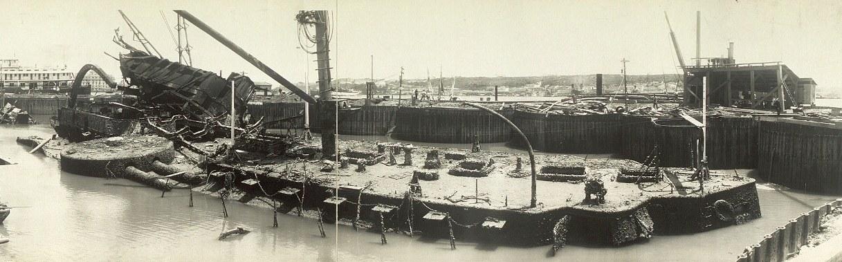 A Maine roncsait csak 1910-ben emelték ki.