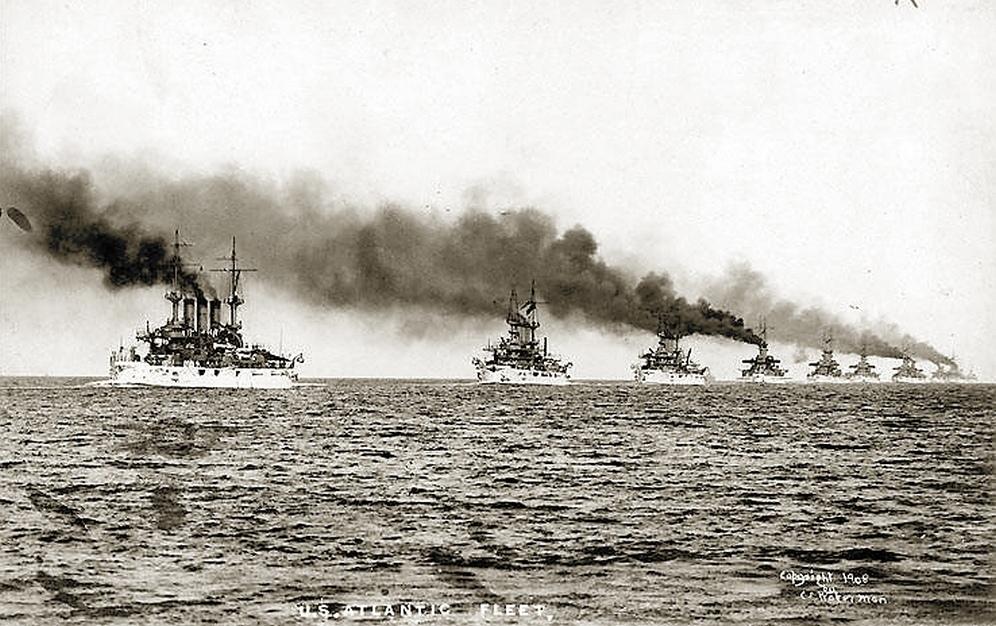 Az amerikai Atlanti Flotta.