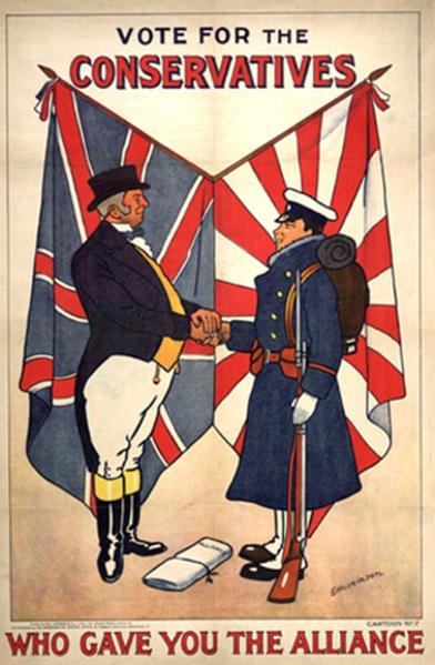 A jól sikerült japán szövetség még az angol választásokon is ütőkártya volt.