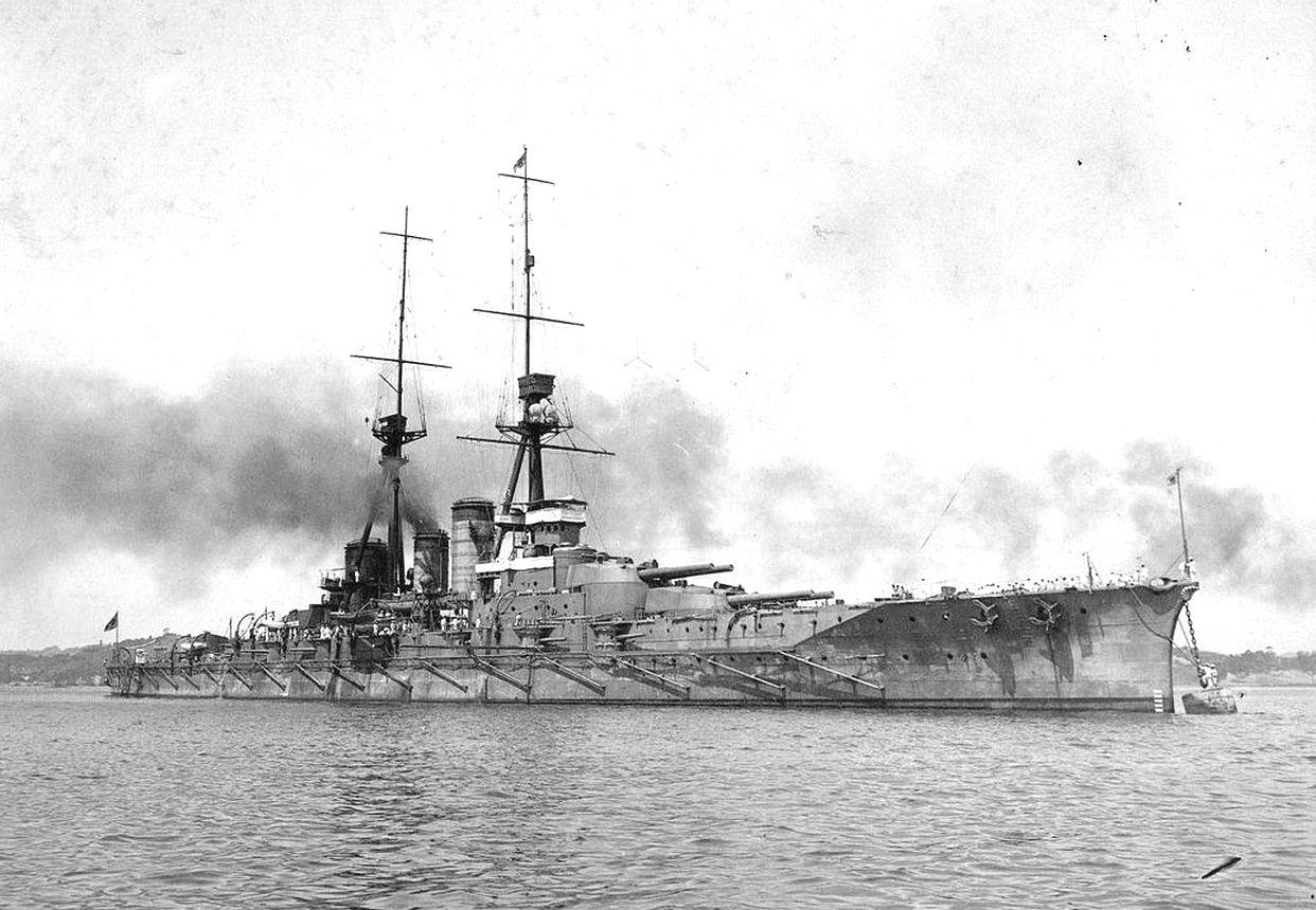 A Haruna 1916-ban.