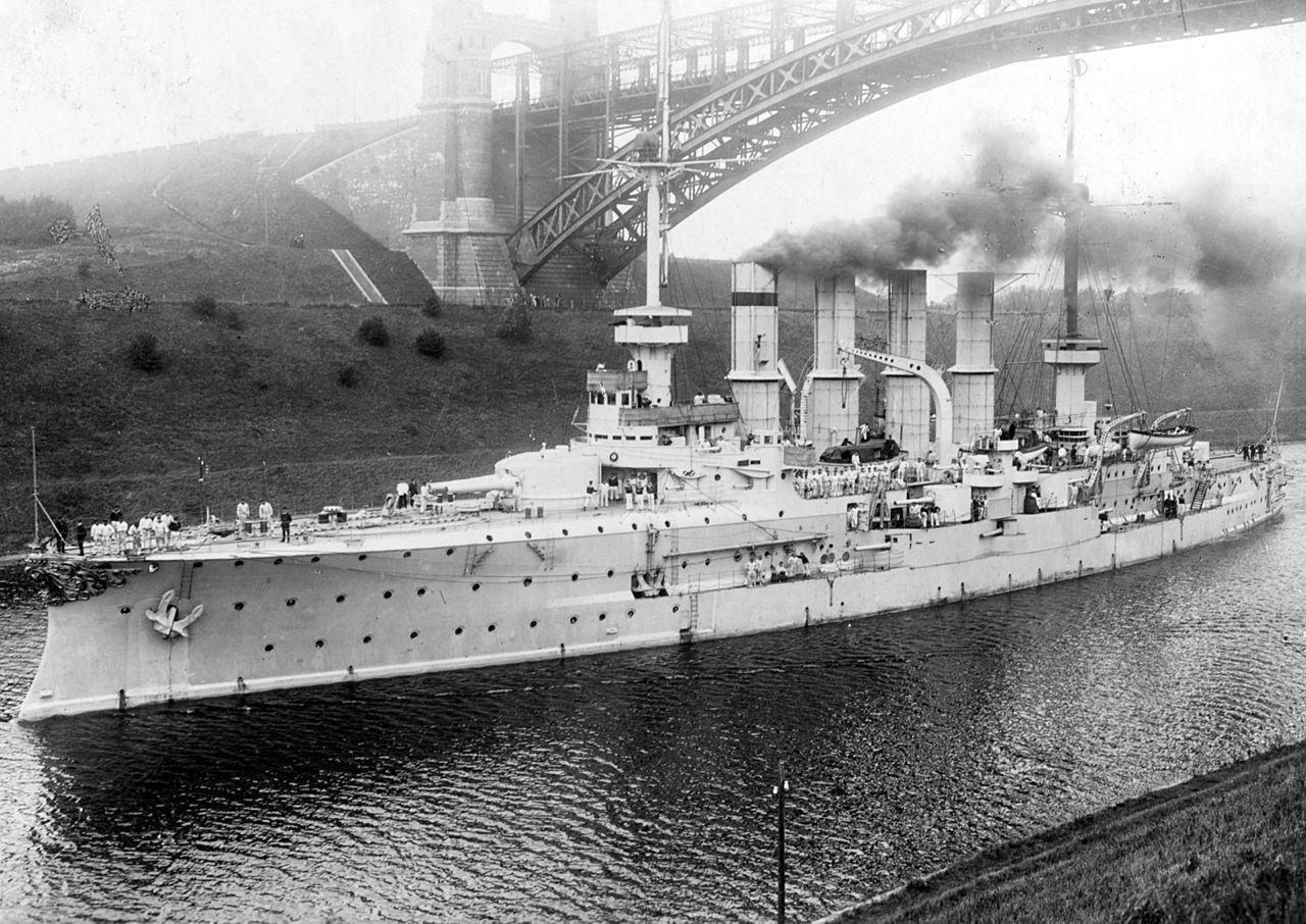 A balvégzetű Yorck páncéloscirkáló.