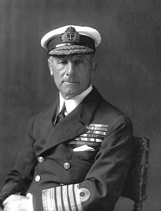 Sir John Rushworth Jellicoe, a Grand Fleet parancsnoka.