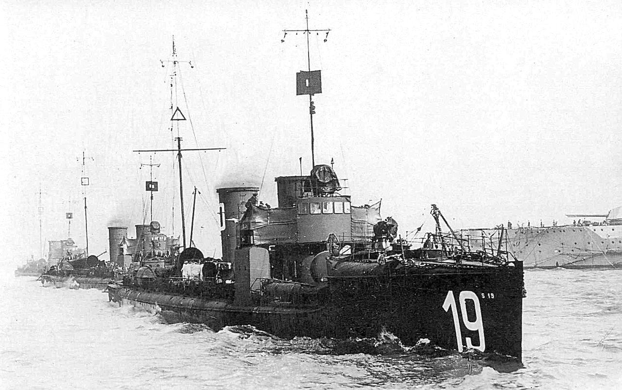 Német torpedónaszádok.